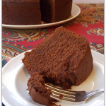 Mexican Chocolate Buttermilk Cake
