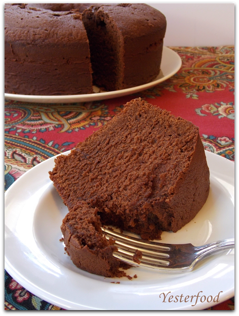 Mexican Chocolate Buttermilk Pound Cake