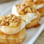 Apple Pie Doughnuts  by AIMEE @ SHUGARYSWEETS