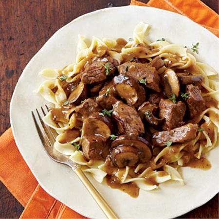 Beef Burgundy For Crock Pot