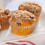 Crumble-Top Pumpkin Muffins