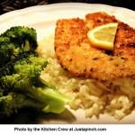 Parmesan-Red Pepper Fish